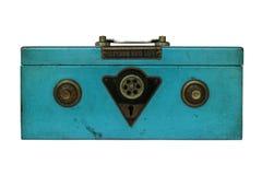 Винтажный сейф руки Стоковая Фотография