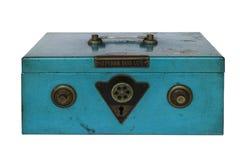 Винтажный сейф руки Стоковые Изображения RF
