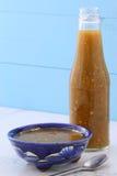 Винтажный соус tomatillo Стоковая Фотография