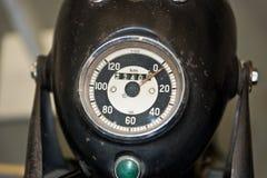 Винтажный спидометр Стоковая Фотография RF