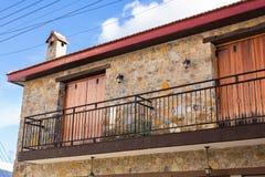 Винтажный старый балкон Стоковая Фотография RF