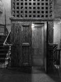 Винтажный старый лифт Стоковое Изображение