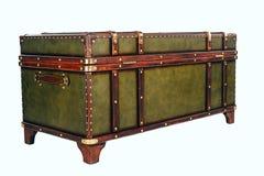 Винтажный сундук с сокровищами стоковое изображение