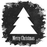 Винтажный с Рождеством Христовым и счастливый Новый Год Стоковое Изображение RF