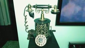 Винтажный телефон стиля Стоковые Фотографии RF