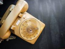 Винтажный телефон шкалы Стоковые Изображения