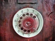 Винтажный телефон стоковая фотография