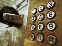 Винтажный телефон стоковое изображение rf