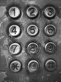 Винтажный телефон стоковое фото