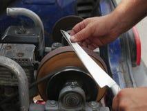 Винтажный точильщик ножа Стоковая Фотография RF