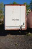 Винтажный трейлер груза Стоковые Фотографии RF