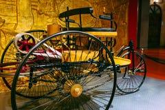 Винтажный трицикл мотора Стоковые Фото