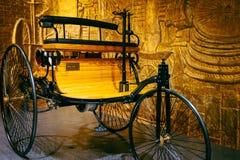 Винтажный трицикл мотора Стоковая Фотография