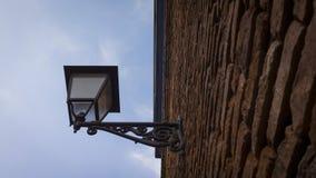 Винтажный уличный фонарь Стоковое фото RF