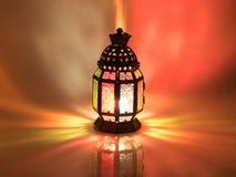 винтажный фонарик свечи в арабском стиле, пользе в kareem n ramadan Стоковые Фотографии RF
