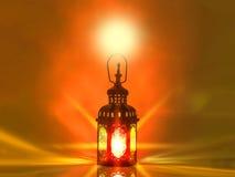 винтажный фонарик свечи в арабском стиле, пользе в kareem n ramadan Стоковая Фотография