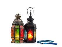 винтажный фонарик свечи в арабском стиле, пользе в kareem n ramadan Стоковое Изображение RF