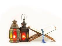 винтажный фонарик свечи в арабском стиле, пользе в kareem n ramadan Стоковое Фото
