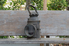 Винтажный фонарик иллюстрация вектора
