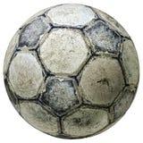 Винтажный футбольный мяч 2 Стоковое фото RF