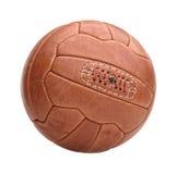 Винтажный футбольный мяч Стоковые Изображения RF