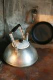 винтажный чайник Стоковые Изображения
