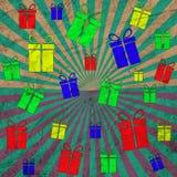 Винтажный шаблон дизайна абстрактный пробел Стоковые Изображения RF