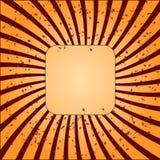 Винтажный шаблон дизайна иллюстрация штока