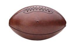 Винтажный шарик американского футбола Стоковое Изображение