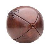 Винтажный шарик американского футбола Стоковое Фото