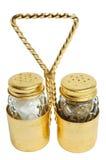 Винтажный шейкер соли и перца Стоковые Фотографии RF