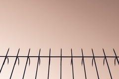 Винтажный шип загородки стоковые изображения