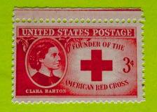 Винтажный штемпель почтового сбора США стоковая фотография rf