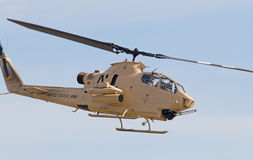Винтажный штурмовой вертолет кобры Стоковая Фотография