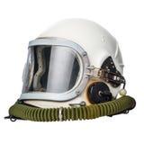 Винтажный шлем космоса Стоковое Изображение
