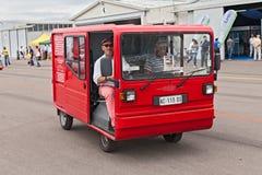Винтажный электрический фургон Стоковое фото RF