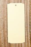 Винтажный ярлык Стоковое фото RF