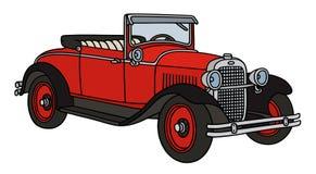 Винтажный cabriolet Стоковое Фото