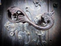Винтажный Doorknob Стоковые Изображения