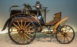 Винтажный Dos--Dos Benz автомобиля, 1899 Стоковое Изображение RF