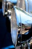 Винтажный headlamp автомобиля Стоковое Фото