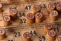 Винтажный lotto Стоковая Фотография RF