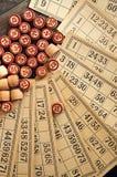 Винтажный lotto Стоковое фото RF