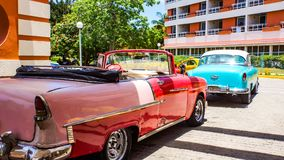 Винтажный ni Гавана автомобилей, Куба стоковое фото