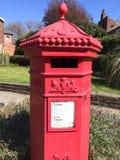 Винтажный postbox стоковые изображения