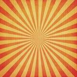 Винтажный sunburst и текстура Стоковые Изображения RF