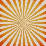 Винтажный sunburst и текстура Стоковые Изображения
