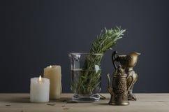 Винтажный Tableware Стоковое Фото