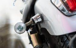 Винтажный taillight мотоцикла старый Стоковые Фотографии RF