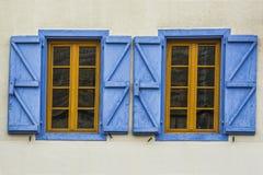 2 винтажных окна раскрывают Стоковые Изображения RF